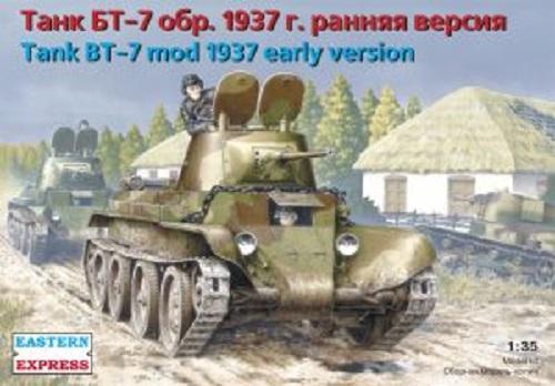 TANK BT-7 MOD 1937 EARLY VERSION 1/35