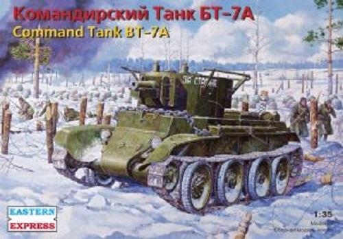 COMMAND TANK BT-7A 1/35
