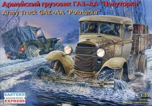 ARMY TRUCK GAZ-AA POLUTORKA 1/35