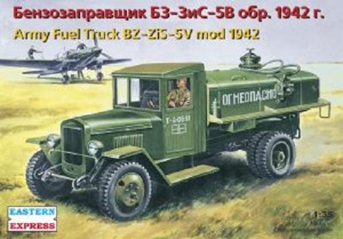 ARMY FUEL TRUCK BZ-ZIS-5V MOD. 1942 1/35