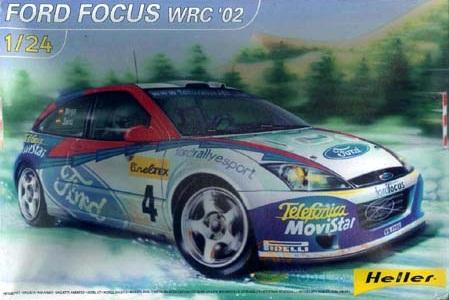 FORD FOCUS WRC'02 1/24 80735
