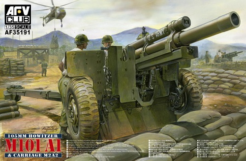 105MM. HOWITZER M101 A1 & CARRIAGE M2A2