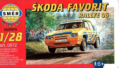 SKODA FAVORIT RALLYE 96 1/28