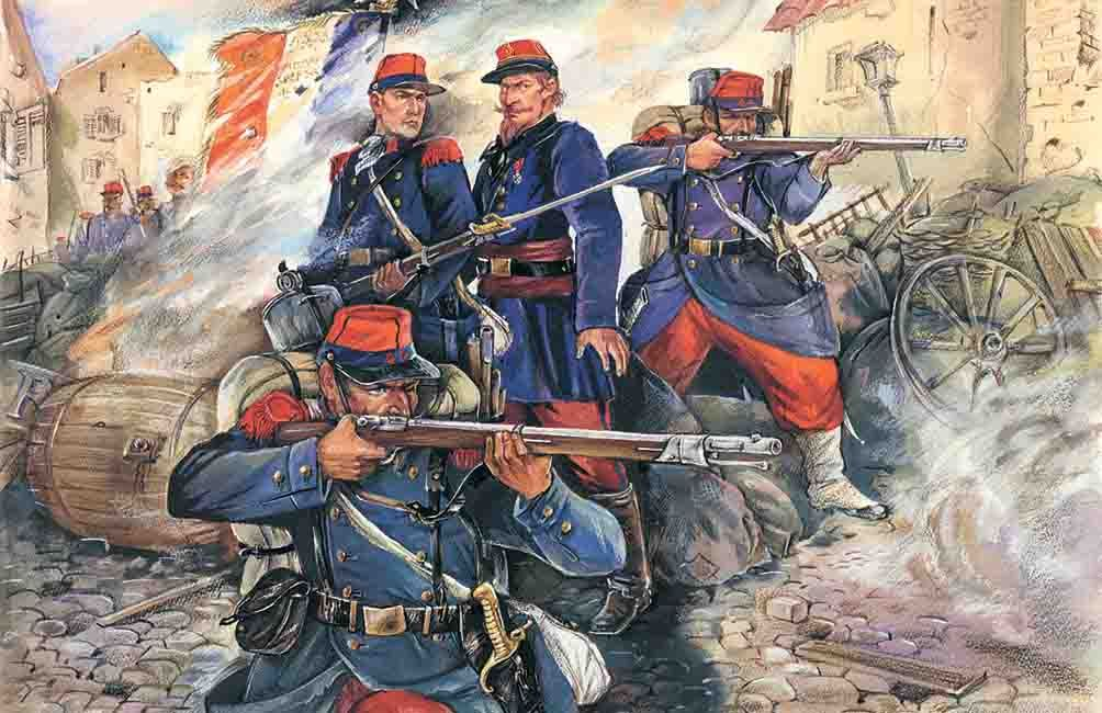FRENCH LINE INFANTRY 1/35