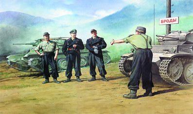 GERMAN TANK CREW (1941-1942) 1/35