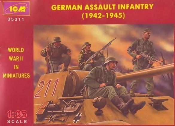 GERMAN ASSAULT INFANTRY (1942-1945) 1/35