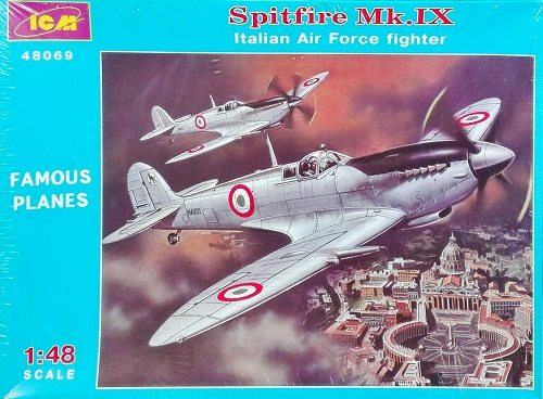 SPITFIRE MK IX ITALIAN AIR FORCE 1/48