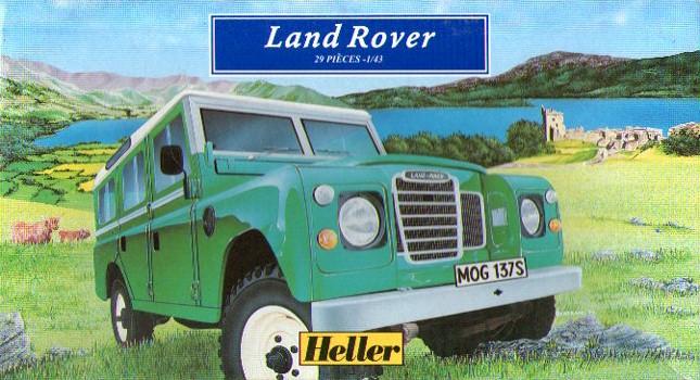 LAND ROVER 1/43 80151
