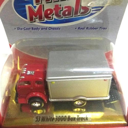 53 WHITE 3000 BOX TRUCK 1/87