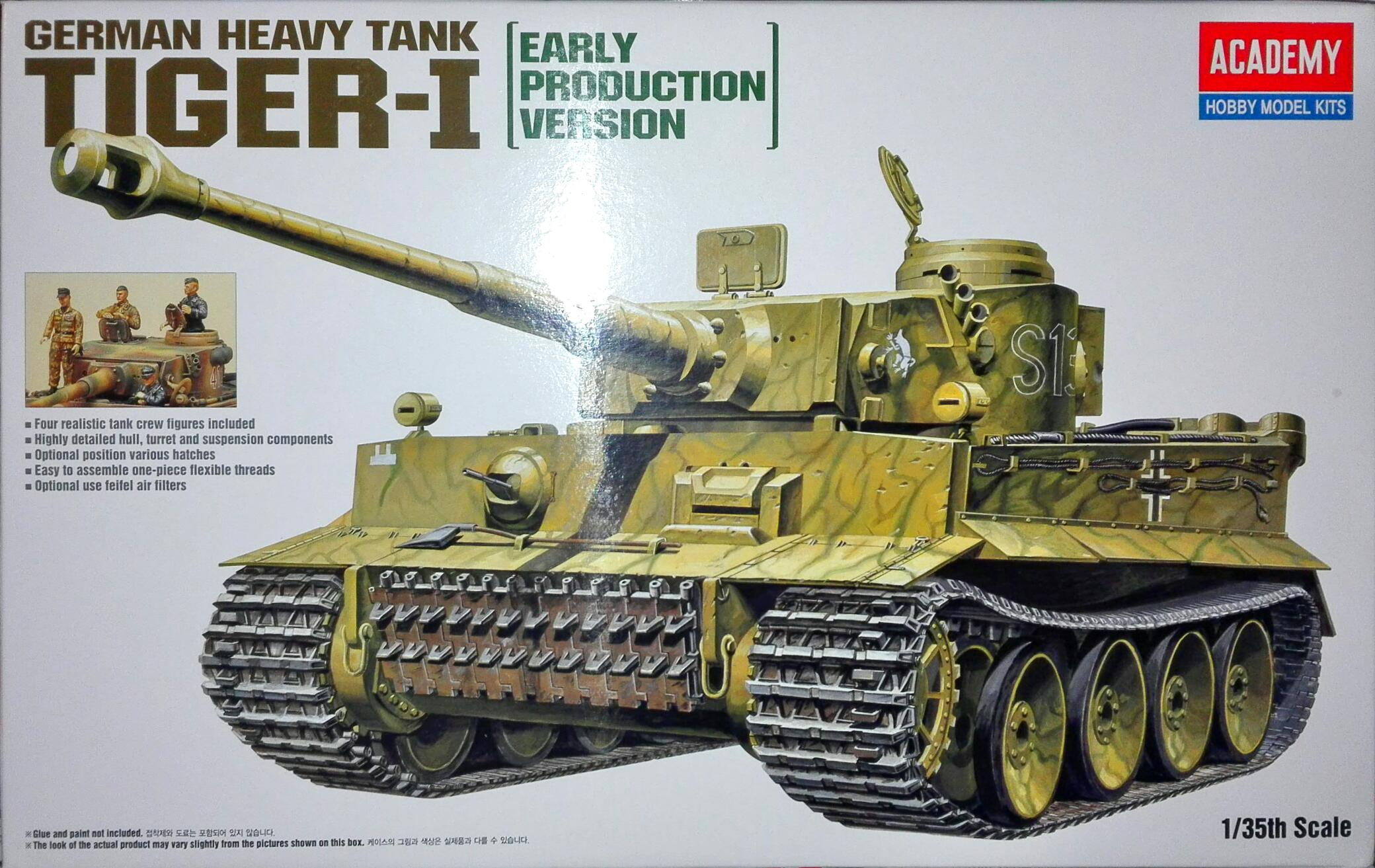 TIGER-I EARLY VERSION 1/35