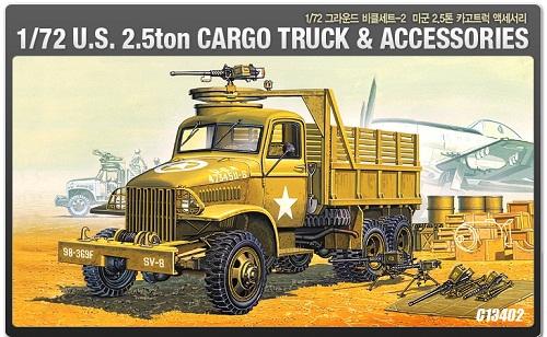 US 2.5 TON TRUCK & ACCESSORIES 1/72 13402