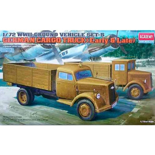 GERMAN CARGO TRUCK EARLY OR LATE 1/72