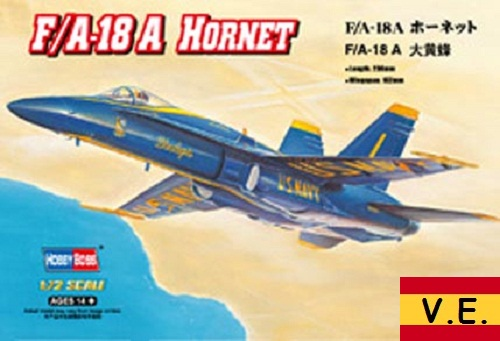 F/A-18A HORNET 1/72 CALCAS ESPAÑOLAS 80268