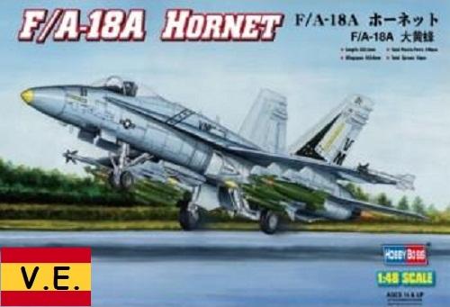 F/A-18A HORNET (CALCAS ESPAÑOLAS) 1/48