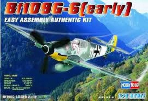 BF109 G-6 (EARLY) 1/72 80225