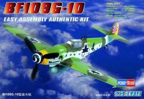 BF109 G-10 1/72 80227 HOBBY BOSS