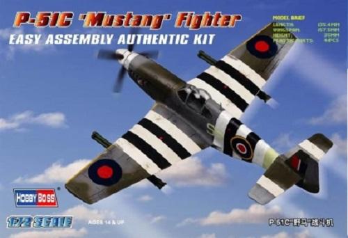 P-51C MUSTANG FIGHTER 1/72 80243 HOBBY BOSS