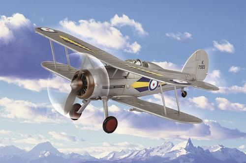 RAF GLADIATOR 1/72 80289 HOBBY BOSS