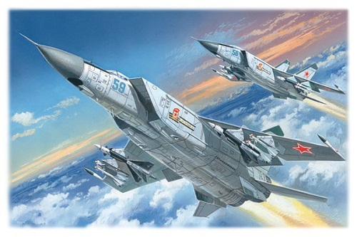 MIG-25PD SOVIET HEAVY INTERCEPTOR FIGHTER 1/72