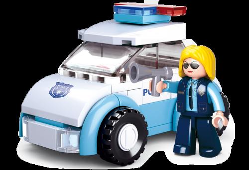MUJER POLICIA CON COCHE GIRLS DREAM B0600B