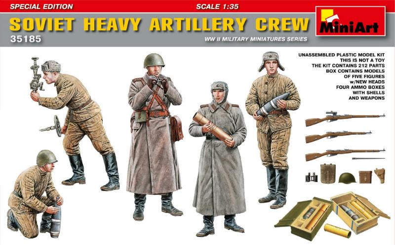SOVIET HEAVY ARTILLERY CREW 1/35