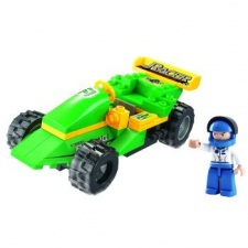 RACING CAR TOWN 63PCS.