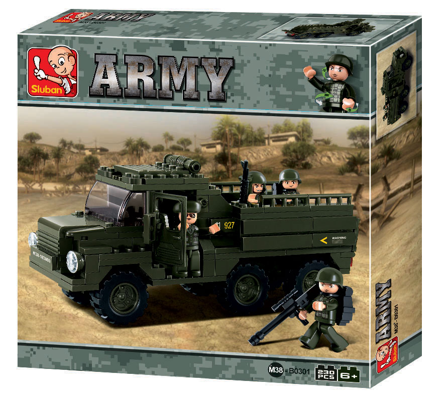 TRUCK ARMY II B0301 230PCS.