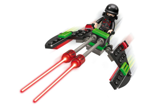 SPACE FIGHTER 34PCS