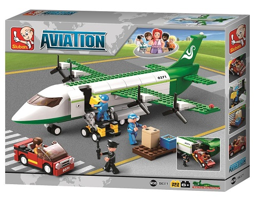 AIR FREIGHTER AVIATION 383PCS.