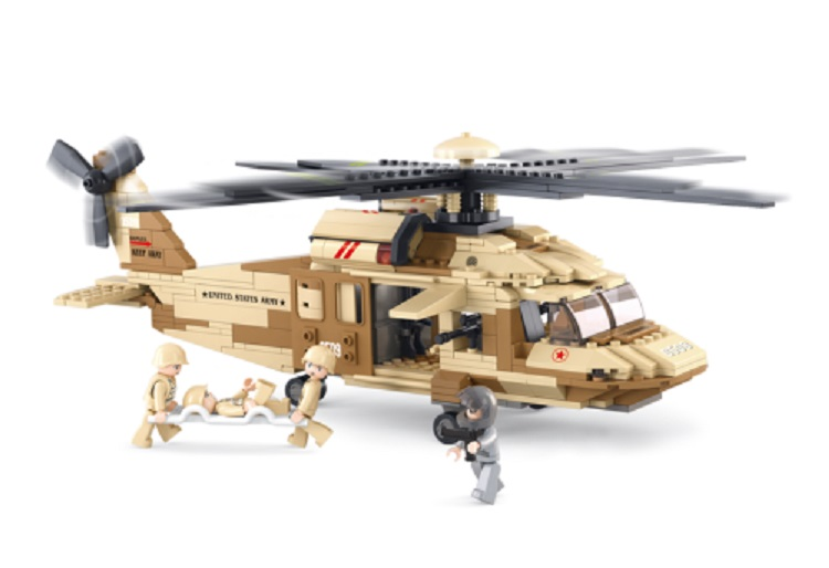 BLACK HAWK HELICOPTER 439PCS.