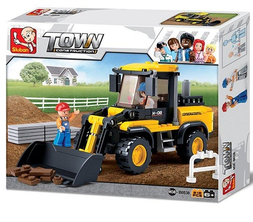 WHEEL LOADER TOWN CONSTRUCTION B0538 212PCS.