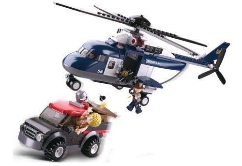 BIG HELICOPTER POLICE II SLUBAN B0656