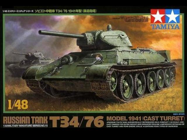 T34/76 MOD. 1941 1/48 32515 TAMIYA