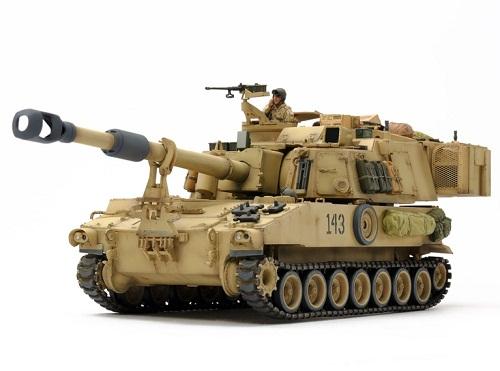 M109A6 PALADIN IRAQ WAR 1/35 37026 TAMIYA