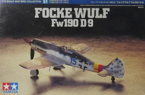 FOCKE WULF FW190D-9 1/72 60751 TAMIYA