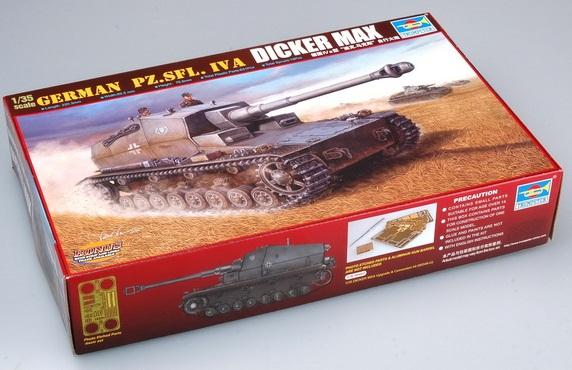 GERMAN PZ.SFL. IVA DICKER MAX 1/35 00348 TRUMPETER