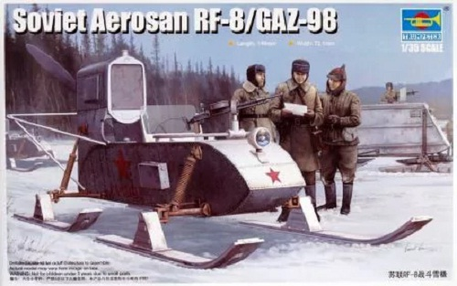 SOVIET AEROSAN RF-8/GAZ-98 1/35