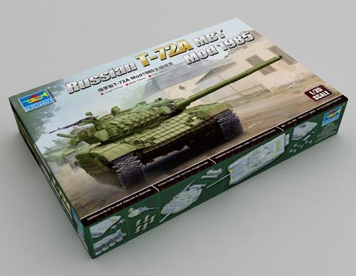 T-72A MOD. 1985 MBT 1/35 09548 TRUMPETER