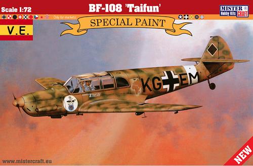 BF-108 TAIFUN 1/72 D-268 CALCAS ESPAÑOLAS
