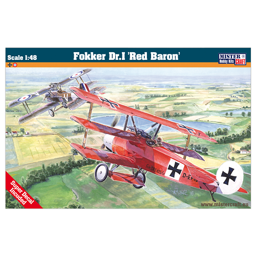 FOKKER DR.I RED BARON 1/48 D-230
