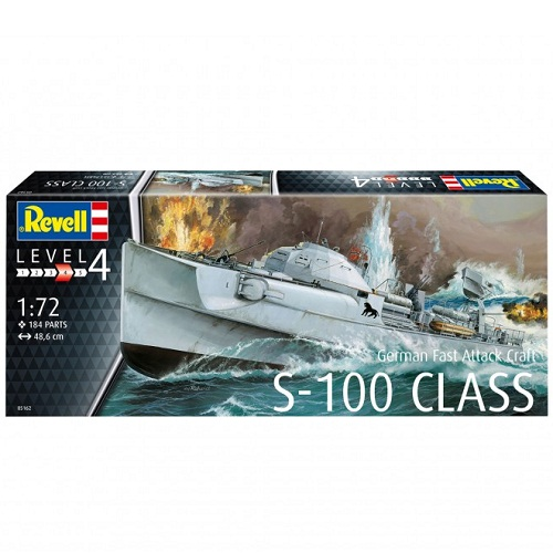 GERMAN FAST ATTACK CRAFT S-100 CLASS 1/72 05162