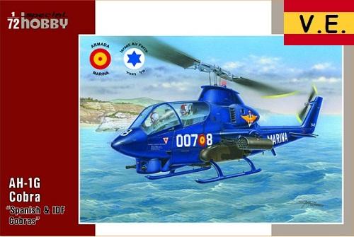 AH-1G COBRA SPANISH IDF SERVICE 1/72 SH72274