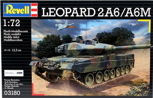 LEOPARD 2A6/A6M 1/72 03180 REVELL