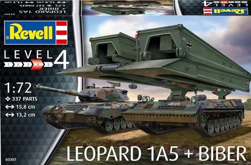 LEOPARD 1A5 + BIBER 1/72 03307 REVELL