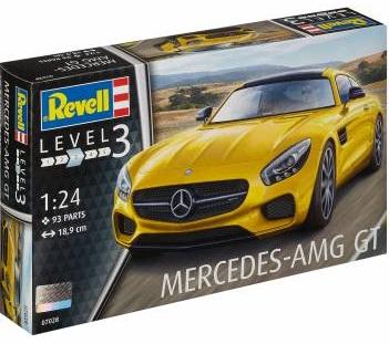 MERCEDES AMG GT 1/24 07028 REVELL