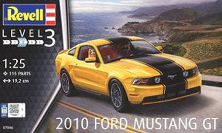 FORD MUSTANG GT 2010 1/24 07046 REVELL