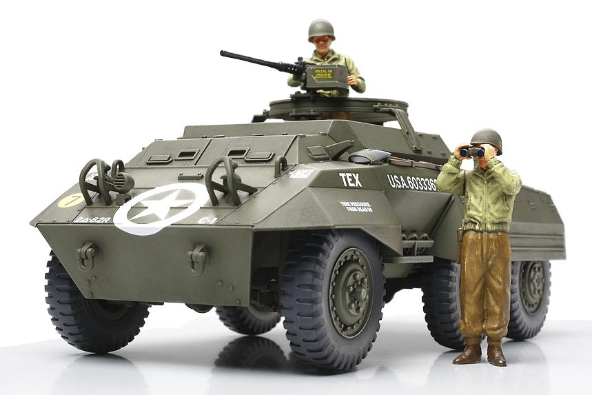 U.S. M20 ARMORED UTILITY CAR 1/48 32556 TAMIYA