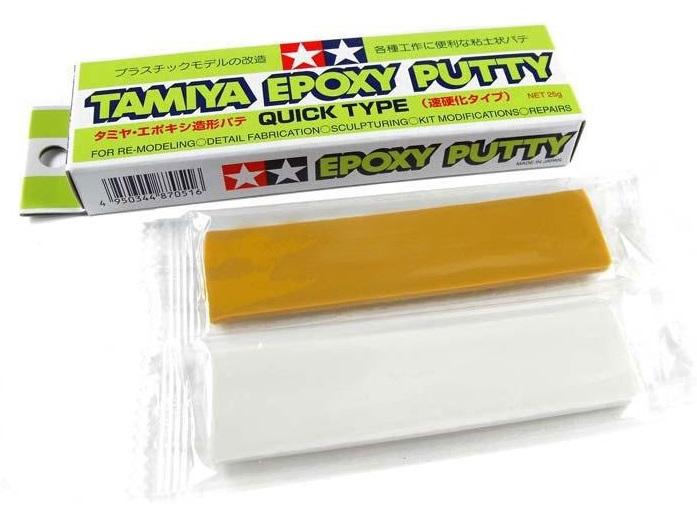 TAMIYA EPOXY PUTTY (QUICK TYPE) TAMIYA 87051