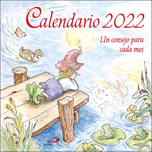 CALENDARIO PARED UN CONSEJO PARA CADA MES 2022