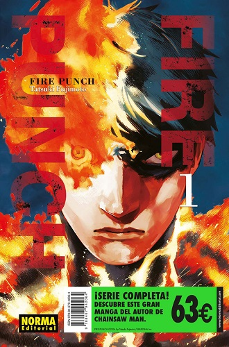 FIRE PUNCH SERIE COMPLETA